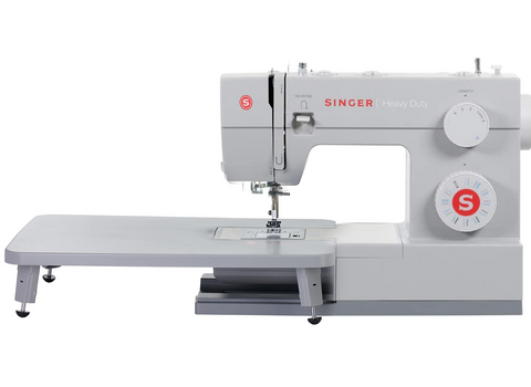 Singer Heavy Duty 4423 Quilting Bundle with Extension Table and Even Feed Walking Foot - Preorder for February