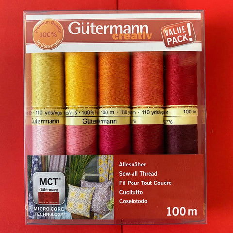 Gutermann Sew-all Thread Set - Collection 4 10 x 100m Assorted