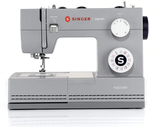 Singer Heavy Duty Denim 6335M - Top Spec 32 stitch machine with accessory pack (latest 2020 model) - Ex Display