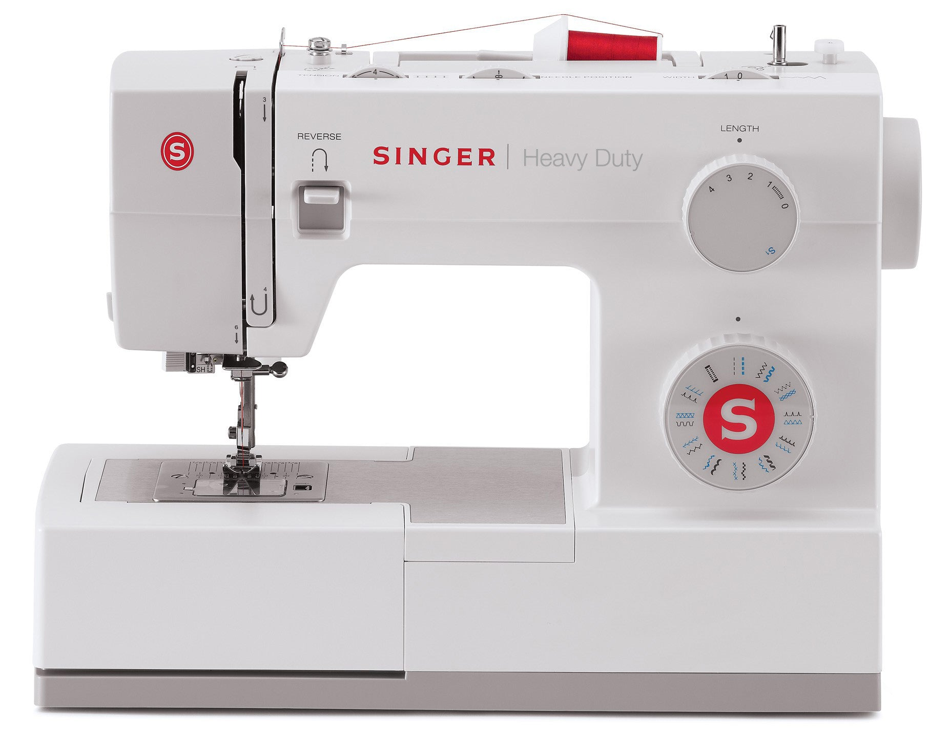 Singer Heavy Duty 5523 - Quilt Edition inc. Quilt Edition inc. Even Feed Walking Foot (White and Grey) - Preorder for November Delivery