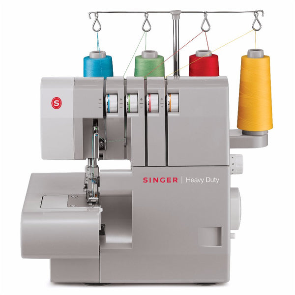 Singer Heavy Duty Bundle 4411 Sewing Machine + 14HD854 Overlocker