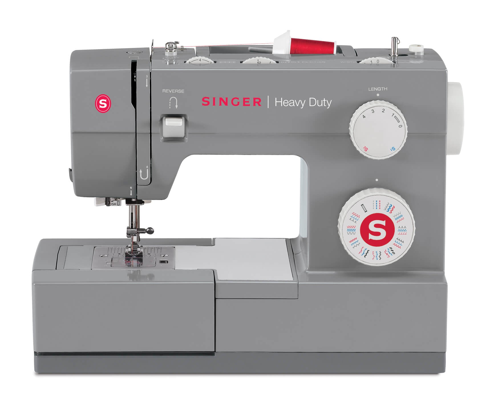 Singer Heavy Duty 4432  - 32 stitch patterns, overlocking, stretch stitches, 60% stronger and over 30% faster - Preorder for delivery later in April
