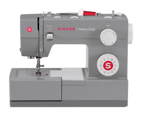 Singer Heavy Duty 4432  - 32 stitch patterns, overlocking, stretch stitches, 60% stronger, (latest 2020 model) * Preorder for September Delivery *