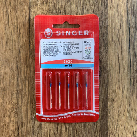 5 x Singer Medium weight Needles (2020) 90/14