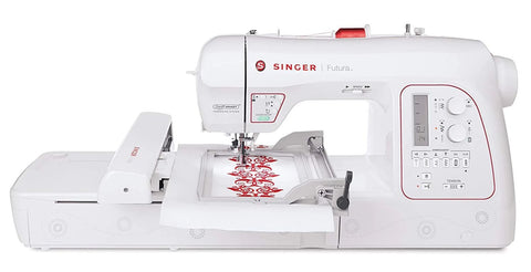 Singer Futura XL580 - Sewing & Embroidery Machine with Free software worth over £500 - Preorder for October delivery