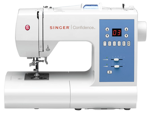 Singer Confidence 7465 Sewing Machine - Computerised with Auto Needle Threader