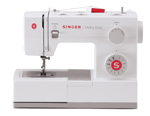Singer Heavy Duty 5511 - Latest 2020 model - * Special Edition white version of 4411 * 60% stronger, Heavy Duty Motor and Frame