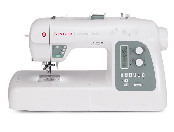 "Singer Modern Quilter 8500q Sewing Machine - 25"" of workspace inc. extension table"