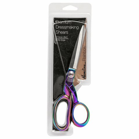 Hemline Rainbow Dressmakers Shears - 21cm / 8.25in