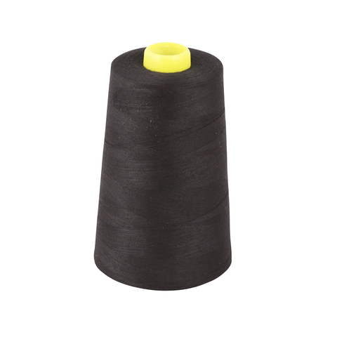 Overlocker Thread Cone 5000m Extra Large - Black - Designed for Overlockers