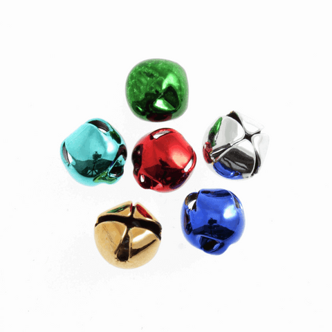 Assorted Jingle Bells - 8mm (Pack of 6)