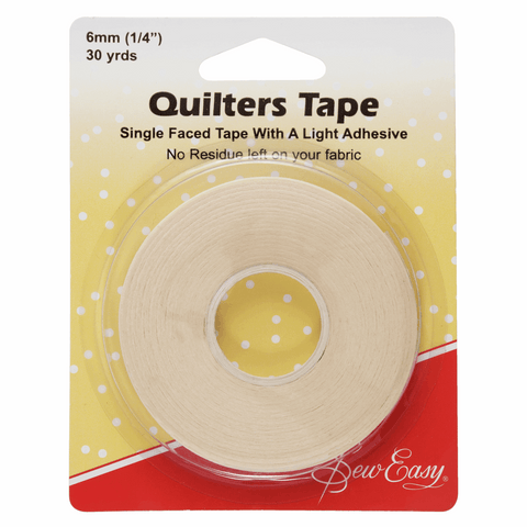 Sew Easy Quilters Tape - 27m x 6mm