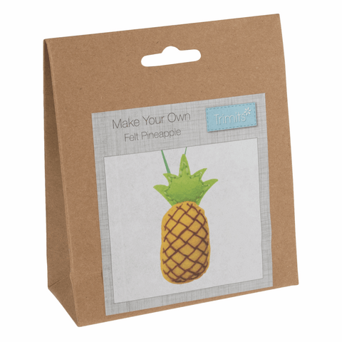 Felt Decoration Kit: Pineapple