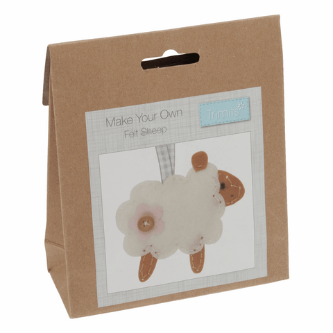 Felt Decoration Kit : Sheep