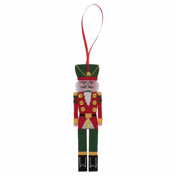 Felt Decoration Kit: Christmas: Nutcracker