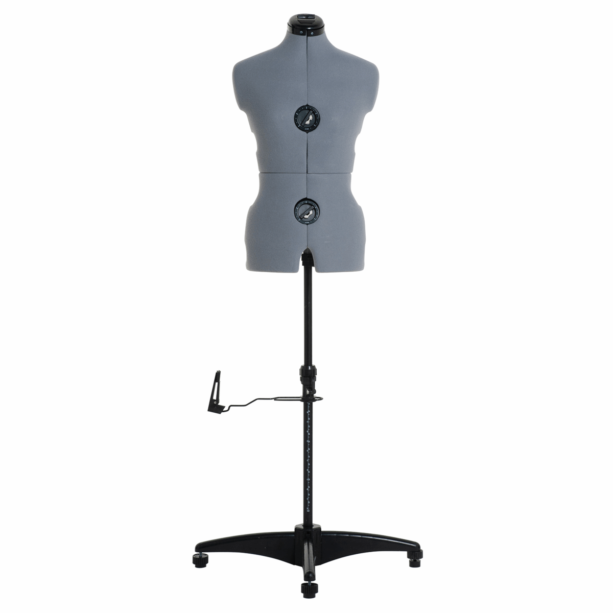 Adjustable Dress Form with Hem Marker: Small: Grey - Dress size: 8-16 (Tailors Dummy / Mannequin) - Delivery due later in December