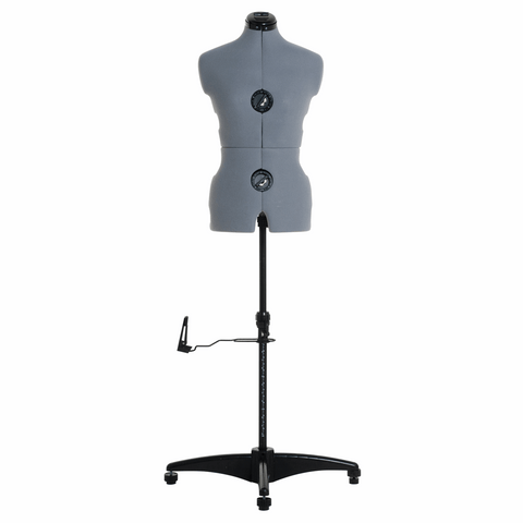 Milward Adjustable Dress Form with Hem Marker: Small: Grey - Dress size: 8-16 (Tailors Dummy / Mannequin)