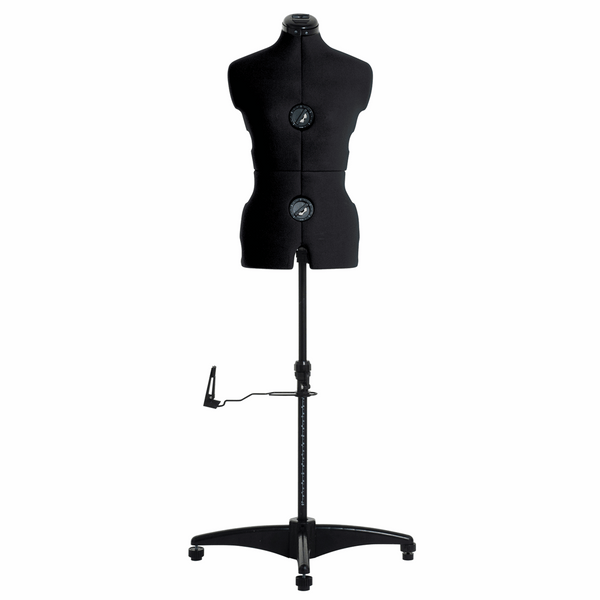 Milward Adjustable Dress Form with Hem Marker: Small: Black - Dress size: 8-16 (Tailors Dummy / Mannequin)