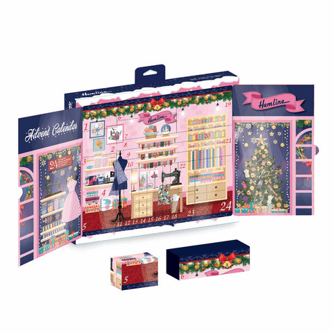 * Singer Outlet Offer * Christmas 2020 Advent Calendar 24 x Sewing Kit - Limited stock available