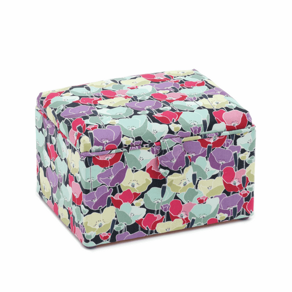 Spring Flowers Sewing Box - Medium