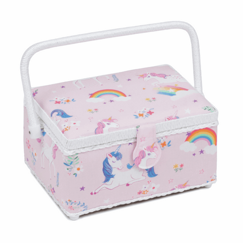 Unicorn Sewing Box - Medium