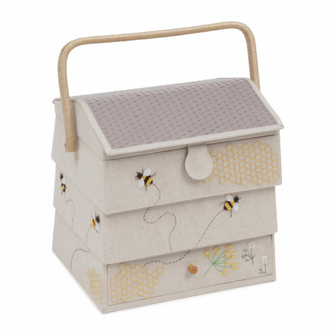 Bee Hive with Drawer Sewing Box - XLarge