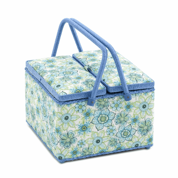Twin Lid Lydia Sewing Box: (L)