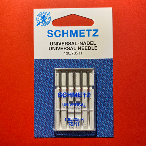 Schmetz Universal Needles 130/705 H 75/11 Lightweight - 5 pack