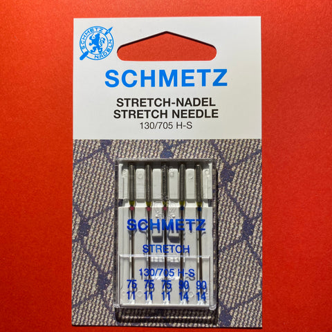 Schmetz Stretch Needles 130/705 H-S 75/11 and 90/14 - 5 pack