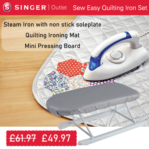 Sew Easy Quilting Iron Set * Bundle Offer *