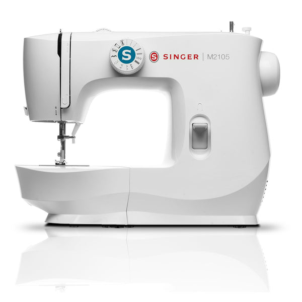 Singer MasterStitch 21-05 Sewing Machine - Simple to use, lightweight and strong - Latest M series 2020 model, Sew Silk to Denim. Free online video class