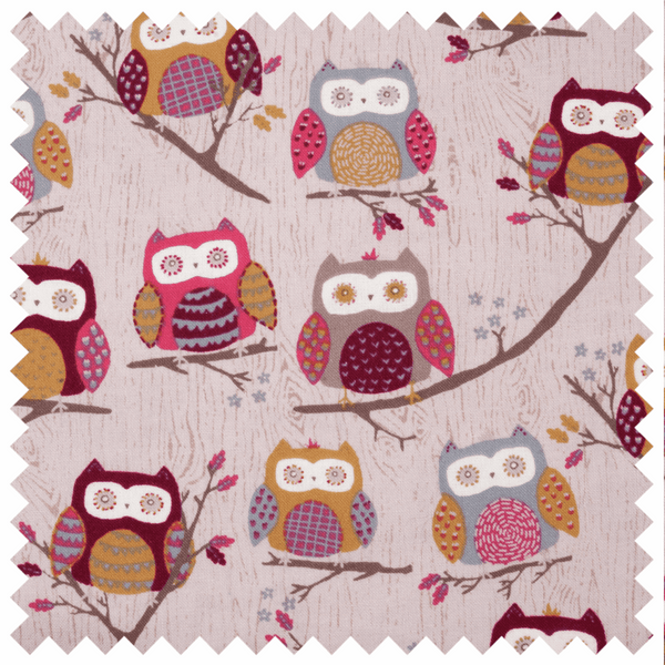 Hoot Hoot Sewing Machine Bag (Matt PVC)