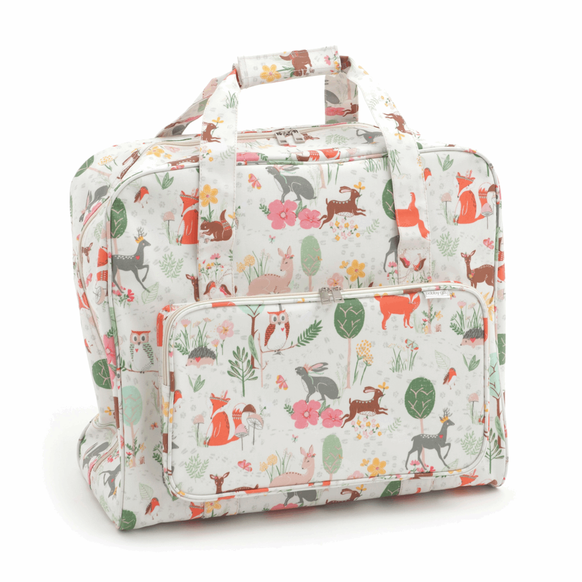 Woodland Sewing Machine Bag (Matt PVC)