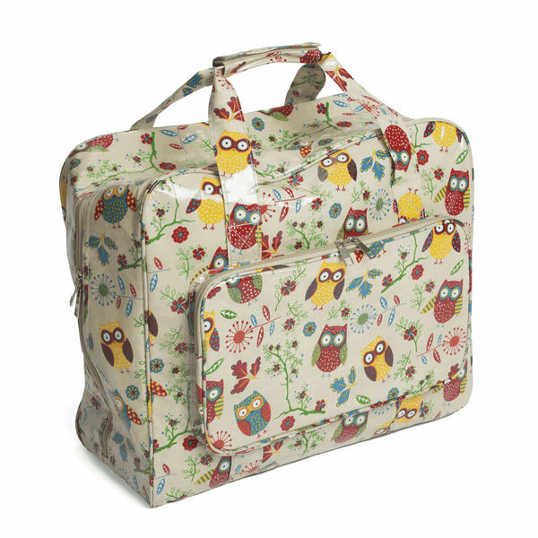 Owl Sewing Machine Bag (Glossy PVC)