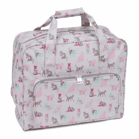 Cats Sewing Machine Bag (Matt PVC)