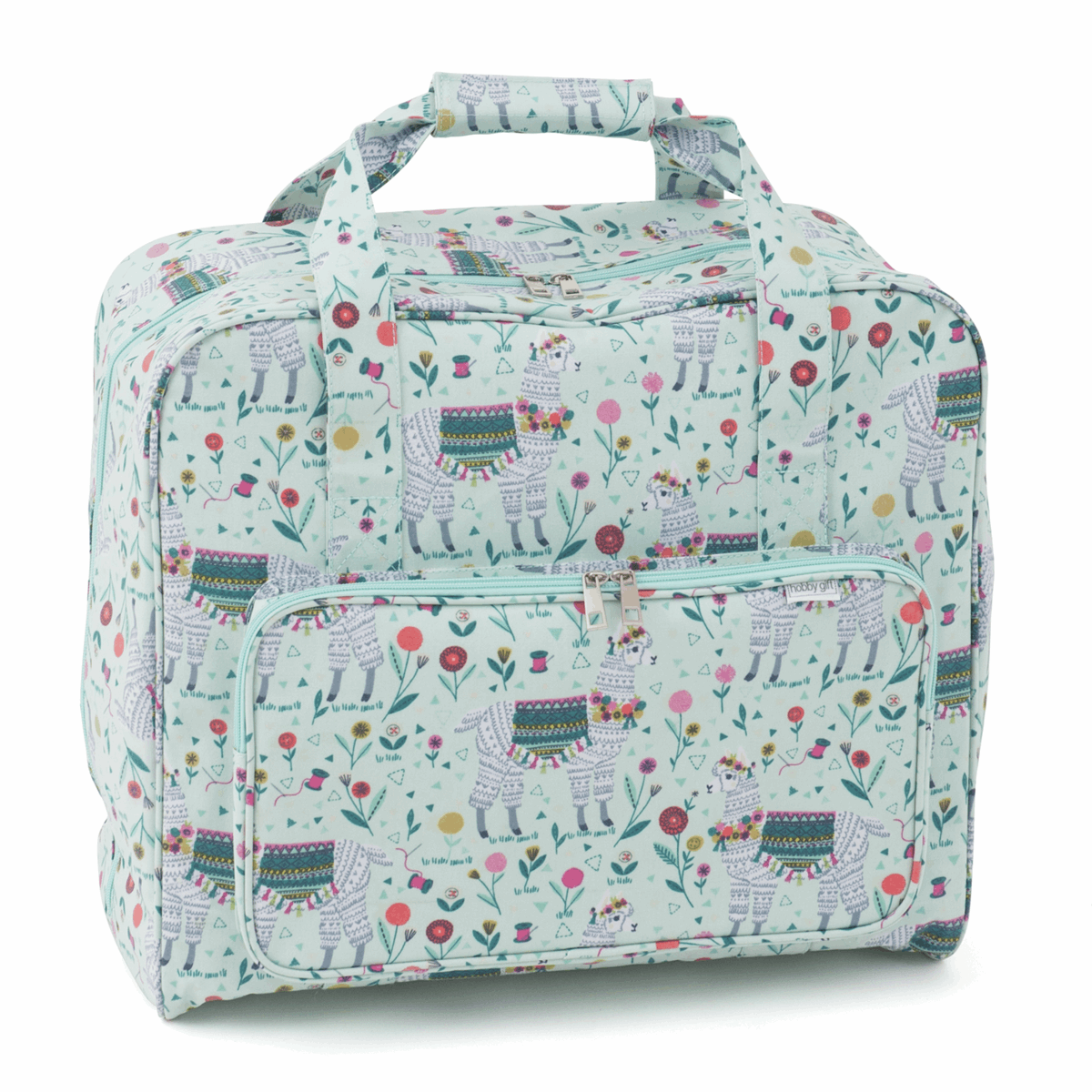 Llama Sewing Machine Bag (Matt PVC)