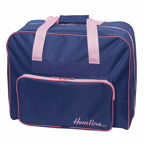 Luxury Blue and Pink Sewing Machine Bag