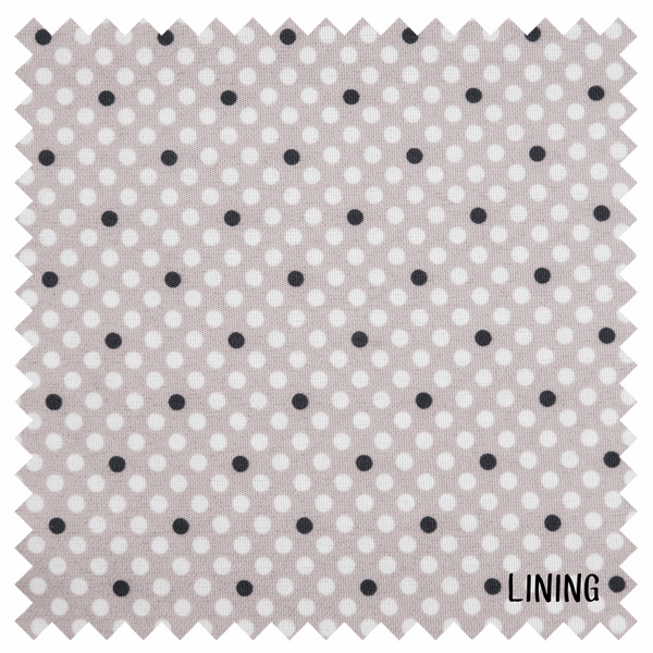 Knitting Bag - Grey Spot