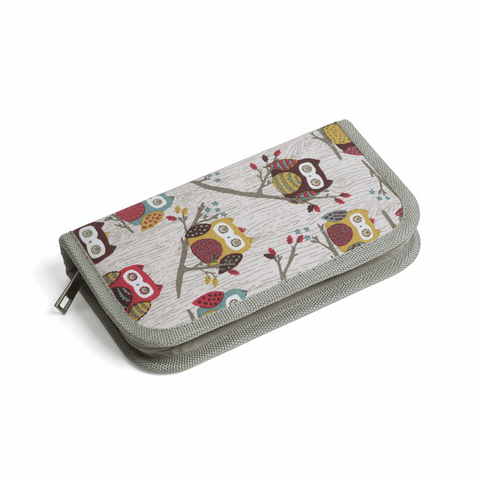 Crochet Hook Case Filled - Hoot