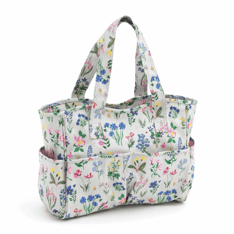 Spring Garden Craft Bag - Matt PVC