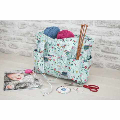 Llama Craft Bag - Matt PVC