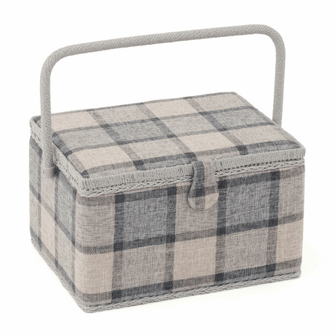 Check Sewing Box - Large