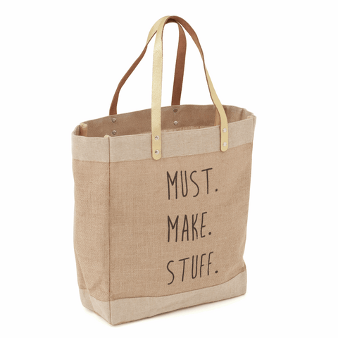 Craft Tote Bag - Must Make Stuff (Medium)