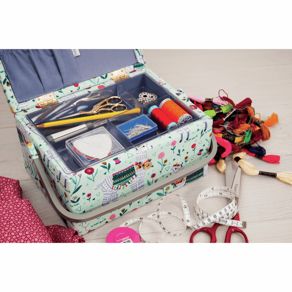 Llama Sewing Box - Medium