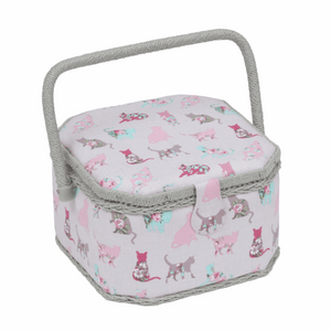 Cats Sewing Box - Medium