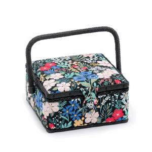 Summertime Sewing Box - Small Square