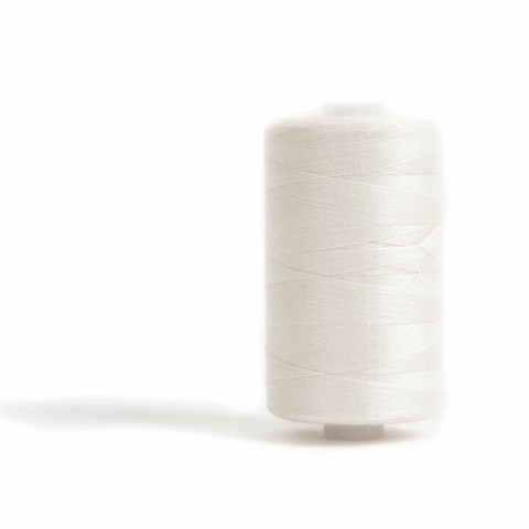 Thread 1000m Extra Large - Natural - for Sewing and Overlocking