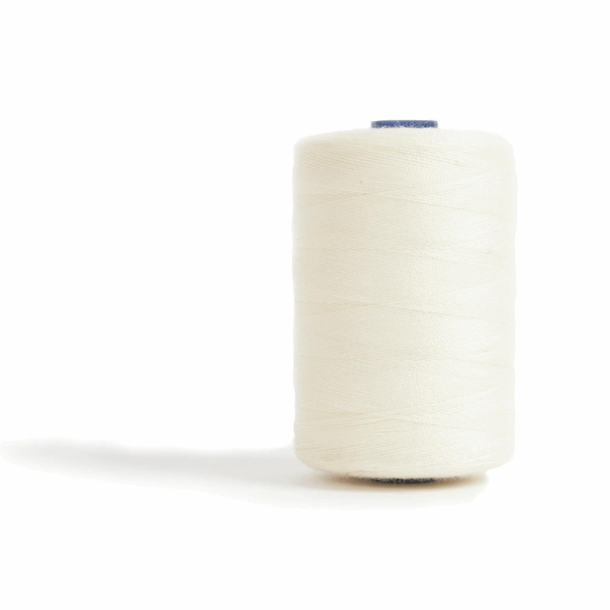Thread 1000m Extra Large - Cream - for Sewing and Overlocking