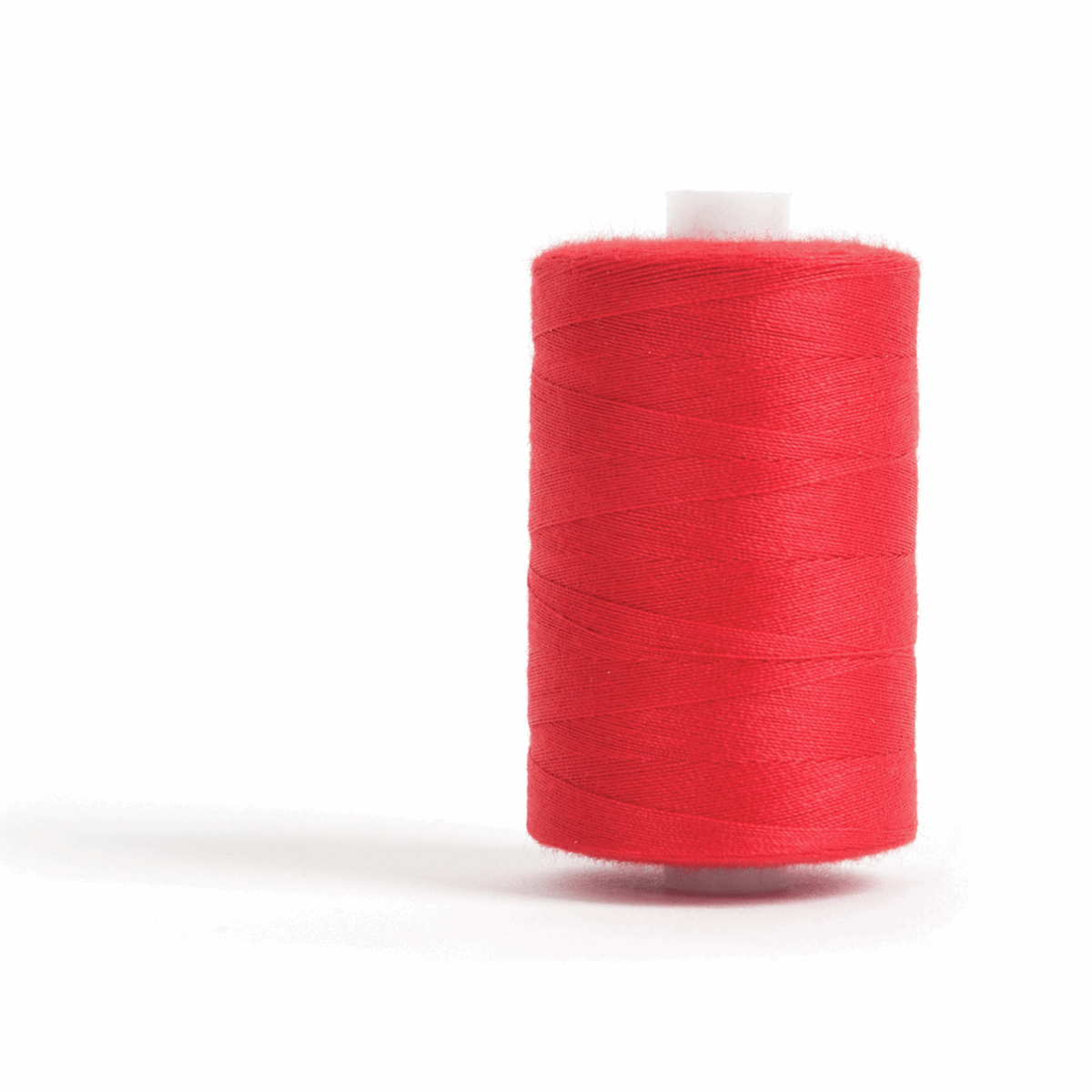 Thread 1000m Extra Large - Red - for Sewing and Overlocking