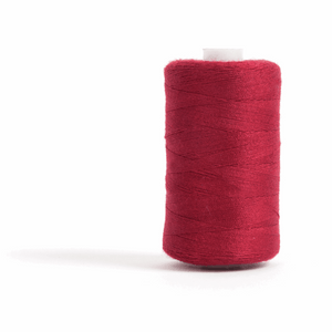 Thread 1000m Extra Large - Dark Red - for Sewing and Overlocking
